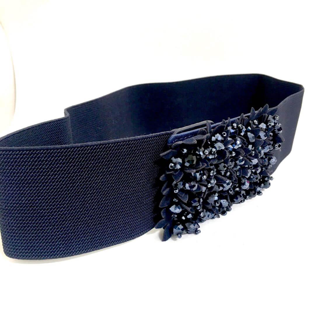 design innovativo daae9 ecbad Cintura elastica alta blu