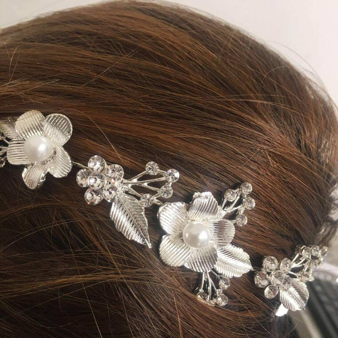 Decorazione acconciatura capelli fiori con - Negozio Online Coco 2 7be952add60c